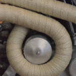 Harley Davidson Exhaust - Detail